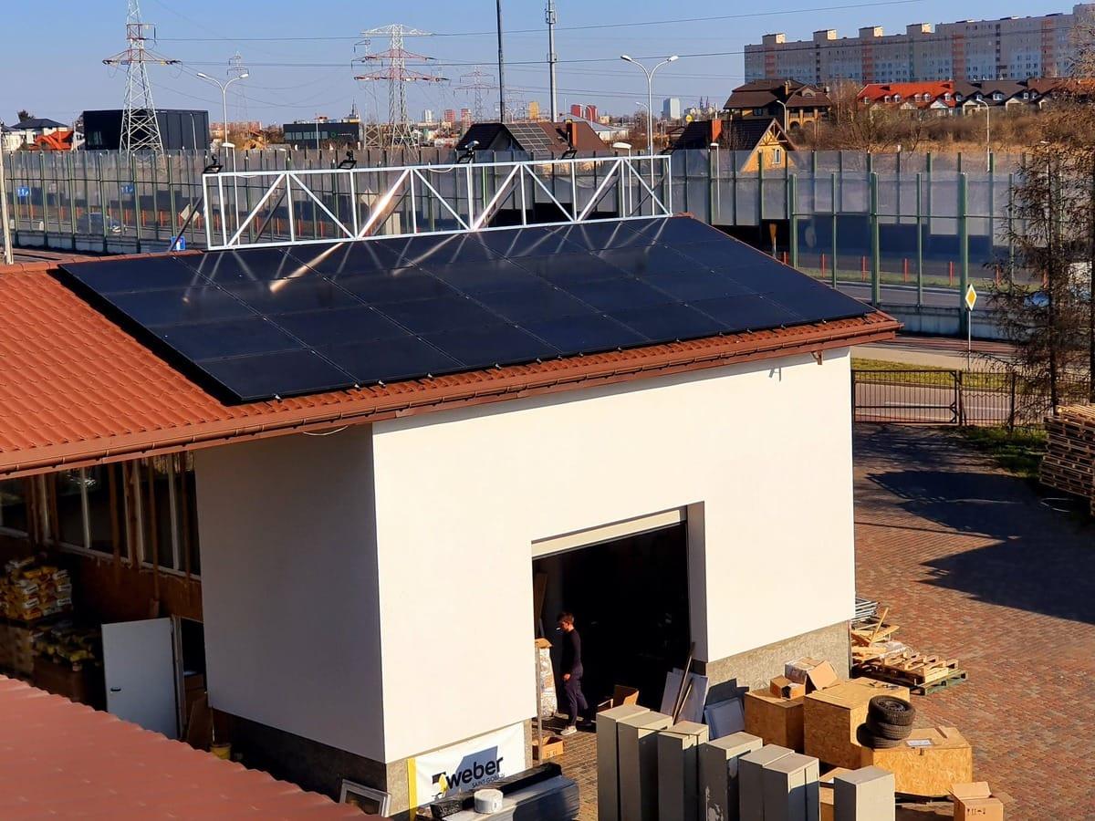ecoABM realizacje Panele Słoneczne