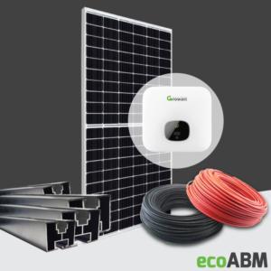 Zestaw fotowoltaiczny PV mono Canadian 1f 3,6kW dach skośny
