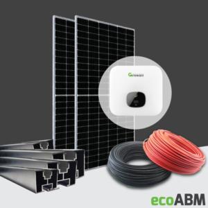 Zestaw fotowoltaiczny PV mono Ja Solar 1f 3,6kW dach skośny