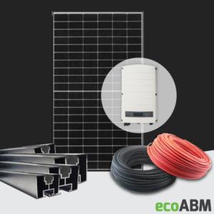Zestaw fotowoltaiczny PV mono Jinko 445W 3f 5kW dach skośny