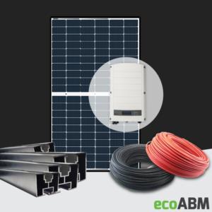 Zestaw fotowoltaiczny PV mono  Longi SolarEdge 3f 6,5kW dach skośny