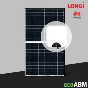 Zestaw fotowoltaiczny PV Longi Solar Huawei 3f 6,5kW dach skośny